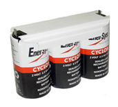 Enersys Cyclon 0850-0102 Battery - 6V 8.0Ah Sealed Lead Rechargeable (Shrink Wrap)