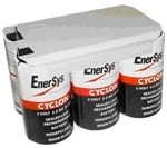 Enersys Cyclon 0800-0114 Battery - 12V 5.0Ah Sealed Lead Rechargeable (Shrink Wrap)
