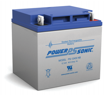 Ps 12400 Power Sonic Sla Battery 12v 40ah