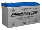 PS-1270F1 Powersonic  Battery 12V 7.0Ah