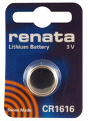Renata CR1616 Lithium Battery - 3V 48mAh