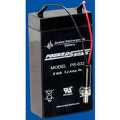 Cas Medical Systems 9001 BP Monitor Battery 01-02-0076