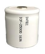Intec  ICF-2500D 1/2D NiCD 1.2V 2500mAh  Flat Top