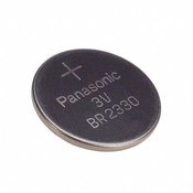 Panasonic BR2330 Lithium Battery - 3 Volt 255mAh