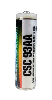 Electrochem 3B0024 Battery - CSC 93AA 3.9V 2Ah AA Lithium High Rate