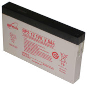 Enersys Genesis NP2-12 Sealed Lead Battery 12v 2.0ah (side terminals)