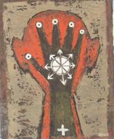 Alazo - Alejandro Lazo #4622.  Untitled, 2007. Oil on canvas. 13.5 x 10.5