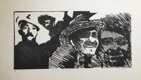 """Carballo (Oscar Carballo)  #118A. """"Sonrisa campesina,"""" N.D. Print artist proof. 14 x 24 inches"""