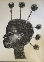 Choco (Eduardo Roca Salazar) #782. Untitled, 1981. Print edition13 of 50.  12 x 17 inches.