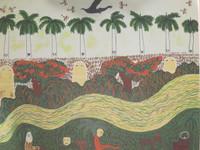 Mendive (Manuel Mendive) #68. Untitled, 1989. Serigraph print, artist proof.19.5 x 25 inches.