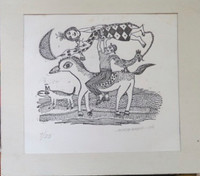 Montebravo (José Garcia Montebravo)  #7000. Untitled, 2004. Print edition 9 of 25. 7.25 x 8 inches.