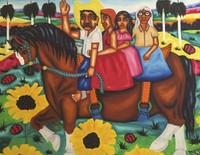 Alejandro V. munilla Jimenez #5429. Untitled, 2004. Oil on canvas. 16 x 22 inches.