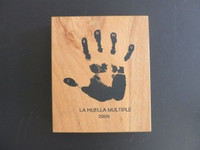 """La Huella Multiple"", Various Artists #??, 2006. Box set prints, edition 43 of 150. 10.5"" x 9""."