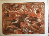 """Roger Aguilar #2821. """"Como recuerdo del XXX anniversario de revolucion y cultura,"""" N.D. Serigraph print edition 28 of 30. 18.5 x 23.85 inches."""