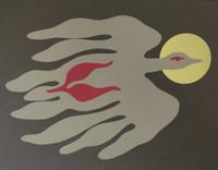 "Juan Moreira  #861. ""El ave,"" 1985. Serigraph print. 20 x 24.5 inches."