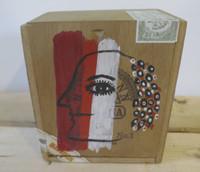 Montebravo (José Garcia Montebravo)  #6598. Untitled, 2000. Acrylic on wood cigar box. 4 x 5.25 x 5.5 inches