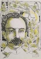 Cecilio Alves #8027. Untitled, 2013. Serigraph Print 20/30.  19.5 x 13.5 Inches.