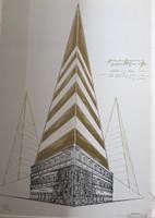 Carlos Garaicoa #1826. Rivoli, 1994 Serigraph print, artist proof. 27.5 x 19 inches.