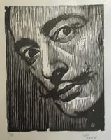 Armando Posse #4116. Untitled, N.D. Woodcut print. 23 x 16 inches.