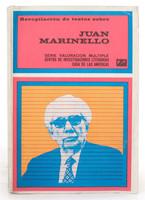 """Umberto Peña (Cover) """"Recopilación de textos sobre Juan Marinello,""""1979."""
