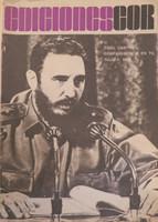 Ediciones COR. Fidel Castro coparecencia en TV. Julio 3, 1968