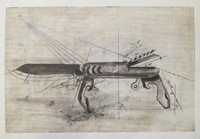 "Guillermo Duffay #5669 (SL) NFS> ""Diaspora,"" N.D. Silkscreen with pencil. 13.5 x 20 inches"