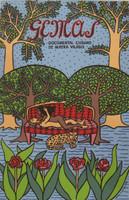 "Alicia Leal #6129A . ""Gemas,"" 1996. Silkscreen print.  21.5 x 15 inches."