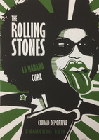 Ares {Aristides Hernandez} #6752. Rolling Stones, 2017. Silkscreen. 27 x 19.5 inches.