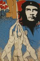 Carmelo Gonzalez (Casa de Las Americas) Untitled, 1972. Silkscreen, 30 x 20 inches.