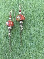 Osvaldo Castilla #421F. Polymita shell Earrings