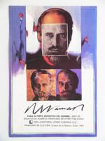 Raúl Martínez, Roberto Fernandez Retamar,1981.Offset. 22 x 15 inches ( Retamar said of this poster: Raul's poster is better than my book!)