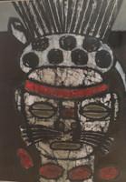 """Mederox (José Mederos Sigler) #4976. Untitled, 2009. Mixed media tempera on paper. 15"""" x 11"""""""