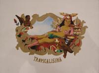"Elio Rodriguez #1733. ""Tropicalisima,"" 1998. Collagraph print edition 8 of 8.  20 x 26 inches."