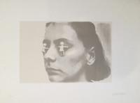 Marta María Pérez Bravo #1853 (SL) Untitled, N.D. Serigraph print edition 68 of 100. 19.75 x 27.5 inches.