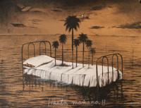 "Copperi (Luis Alberto Perez Copperi) #5064 ""hasta Mañana,"" N.D. Printers ink on craft paper. 27.5 x 19.25 inches. SOLD"