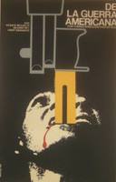 """Azcuy (René Azcuy Cardenas)  """"De la guerra americana,"""" 1969. Silkscreen. 28 x 18 inches"""