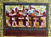 Gorria (Jorge Perugorría Rodríguez) #4851. Untitled, N.D. Oil on canvas. 55 x 80 inches.
