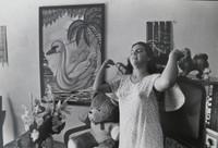 """Mayito (Mario García Joya) #168. NFS> """"From the photo essay Caibarien,"""" 1986.  8 x 12 inches"""