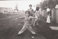 "Mayito (Mario García Joya) #171. From the photo essay ""Hermanos,"" 1981. 15.75 x 19.75 inches. Signed and dated 1981."