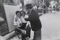 """Mayito (Mario García Joya) #176. """"El fotografo de Quito, Ecuador,"""" 1982. 11.75 x 15.75 inches. Signed and dated 1982"""