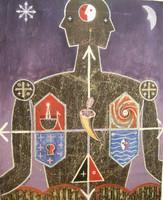 Alazo - Alejandro Lazo #4348 . Untitled , 2002 Oil on canvas 39 x31 inches