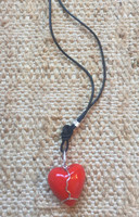 Osvaldo Castilla #418E. Heart Charm Necklace