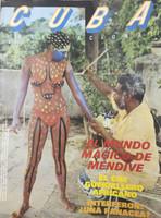 Mendive (Manuel Mendive on Cover) Cuba Magazine 1989