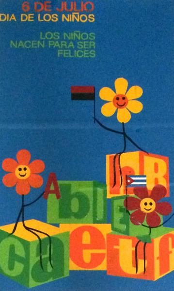 """Unsigned, """"6 de Julio, Día de los Niños,"""" ND. Silk screen 28"""" x17""""."""
