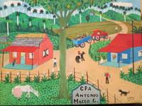 """Osmar Peña Clavel #5614. """"CPA. Antonio Maceo,"""" 2013. Oil on canvas. 9"""" x 12."""""""