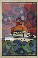 "Ñiko (Antonio Perez) (ICAIC) ""Si Salgo, llego..Si Llego, entro..Si entro, triunfo,"" 1971. Silkscreen print.  30 x 20 inches."