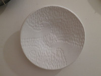 Alejandro Lopez Bastida #6536 Untitled, N.D. Ceramic plate from Trinidad de Cuba.  9 inches diameter.    $125