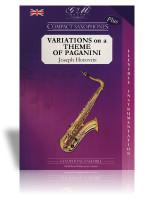 Variations on a Theme of Paganini (Sax Quartet)