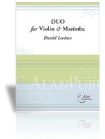 Duo for Violin and Marimba
