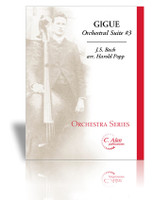 Gigue from Orchestral Suite #3 (J.S. Bach)